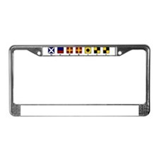 Nautical Merrill License Plate Frame