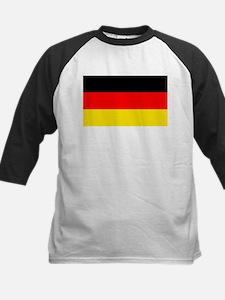 German Flag Kids Baseball Jersey
