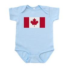 Canadian Flag Infant Bodysuit