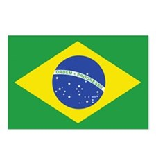 Brazilian Flag Postcards (Package of 8)
