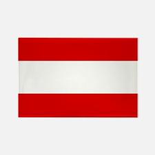 Austrian flag Rectangle Magnet (10 pack)