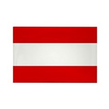 Austrian flag Rectangle Magnet