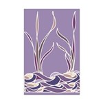 Lavender Sunset Marsh Mini Poster Print