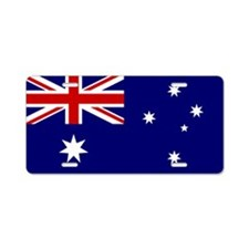 Australian Flag Aluminum License Plate
