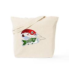 Koi Line Tote Bag