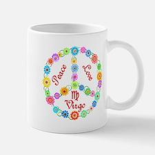 Peace Love Virgo Mug