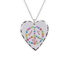 Peace Love Virgo Necklace