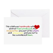 Handmade with Love Boy Greeting Card