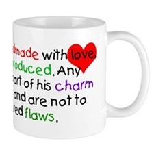 Handmade with Love Boy Mug