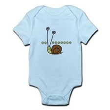 Be Awesome Snail Infant Bodysuit