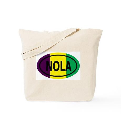 TriColor NOLA Euro/Black Tote Bag