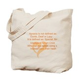 Apraxia Canvas Bags