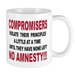Compromisers violate their pr Mug