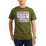 Compromisers violate their pr Organic Men's T-Shir