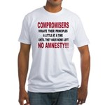 Compromisers violate their pr Fitted T-Shirt