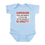 Compromisers violate their pr Infant Bodysuit