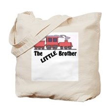 Little Brother Trains Tote Bag