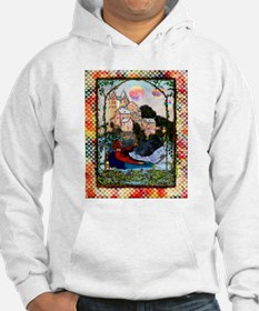 Planets Over Victorian Castle Hoodie