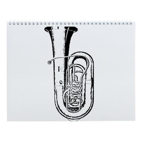 Tuba Wall Calendar