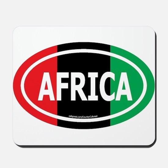 Africa / Garvey Euro/White Mousepad
