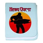 Hawg Quest baby blanket