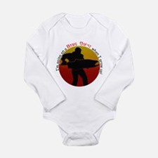 Hawg Quest Long Sleeve Infant Bodysuit