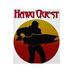 Hawg Quest Throw Blanket