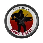 Hawg Quest Large Wall Clock