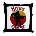 Hawg Quest Throw Pillow