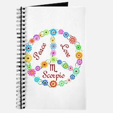 Peace Love Scorpio Journal