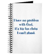 I have no problem with God Journal