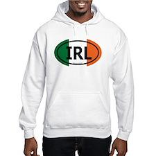 """IRL"" Ireland Euro Flag 2 Hoodie"