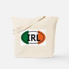 """IRL"" Ireland Euro Flag 2 Tote Bag"