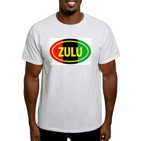 Zulu / Garvey Euro/Yellow Ash Grey T-Shirt