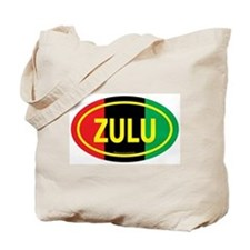 Zulu / Garvey Euro/Yellow Tote Bag