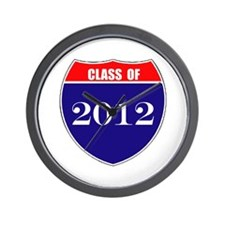 Class of 2012 Wall Clock