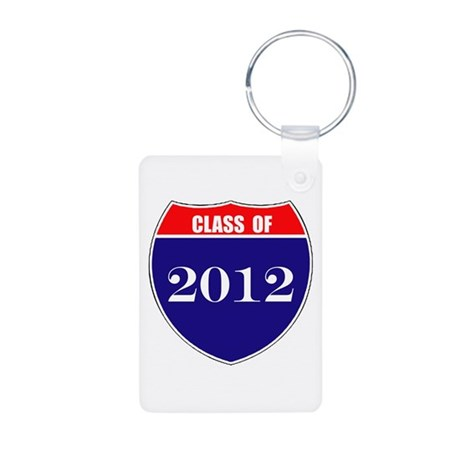 Class of 2012 Aluminum Photo Keychain