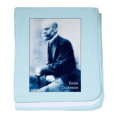 Émile Durkheim baby blanket