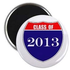 "Class of 2013 2.25"" Magnet (10 pack)"