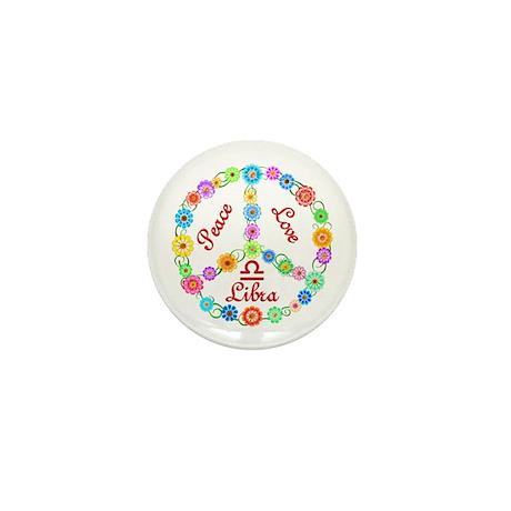 Peace Love Libra Mini Button (100 pack)