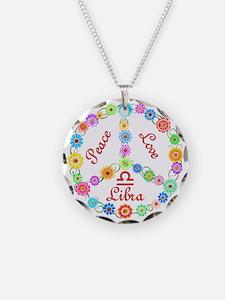 Peace Love Libra Necklace