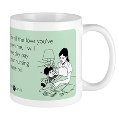 All The Love You've Given Mug