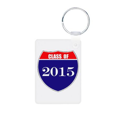 Class of 2015 Aluminum Photo Keychain