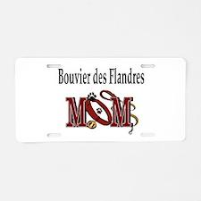Bouiver des Flandres Aluminum License Plate