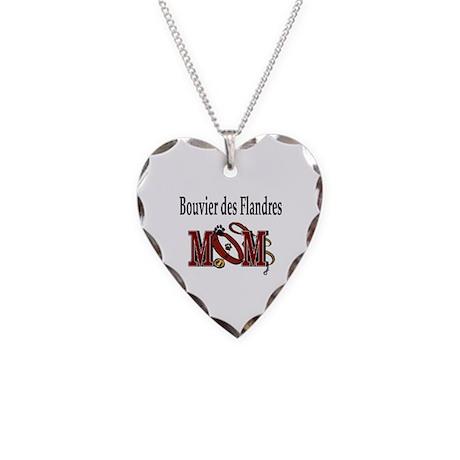 Bouiver des Flandres Necklace Heart Charm