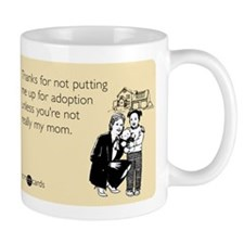 Up For Adoption Mug