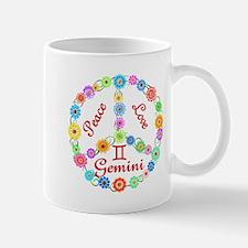 Peace Love Gemini Mug