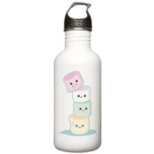 Stacked Marshmallows Sports Water Bottle