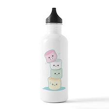 Stacked Marshmallows Water Bottle