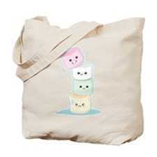 Stacked Marshmallows Tote Bag